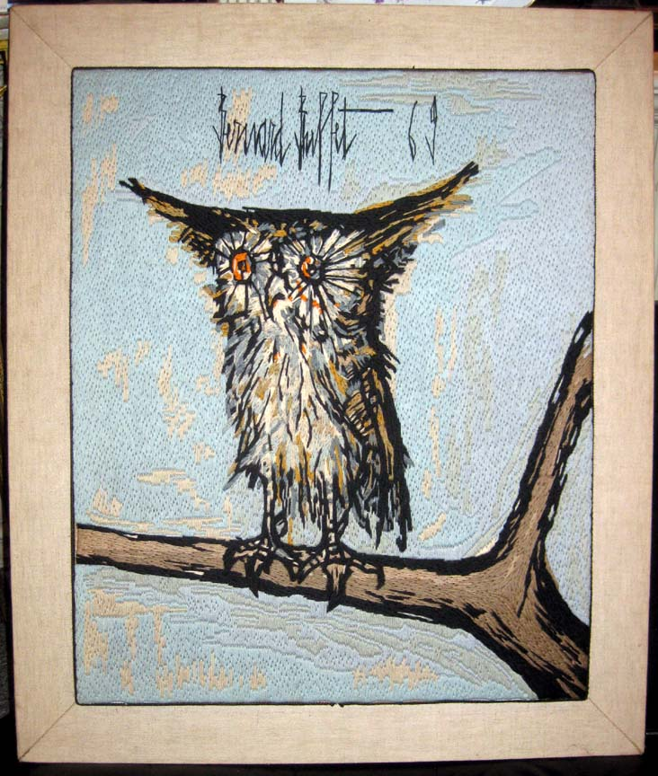 Awesome Bernard Buffet 1969 Owl Art Download Free Architecture Designs Scobabritishbridgeorg