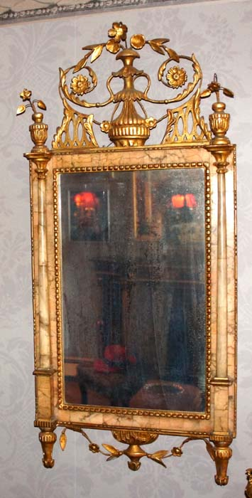 Bilbao Bilboa Antique Mirror