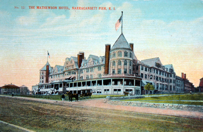 Narragansett Rhode Island An Antique Post Card History From Drawing Room Antiques Newport Ri