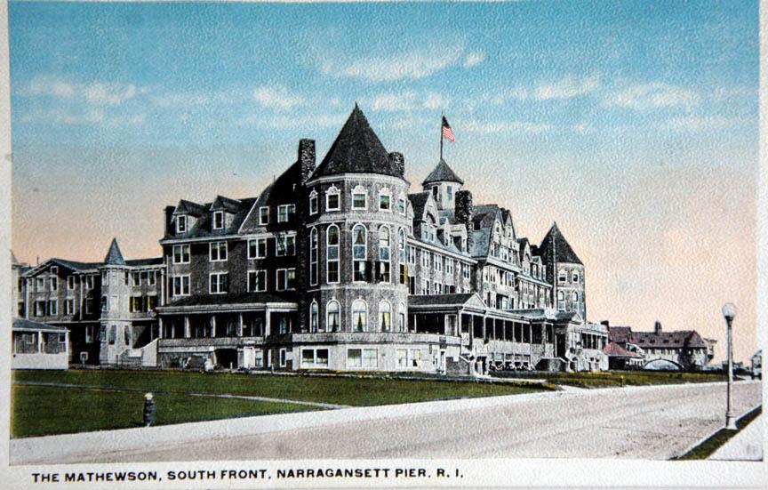 The Mathewson Hotel Narragansett Pier R I